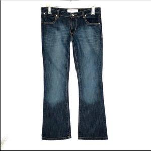Paper Denim & Cloth Bootcut Dark Wash Jeans Sz 8
